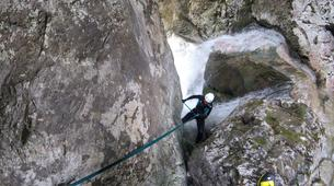 Canyoning-Valjevo-Canyoning in the Tribuca Canyon, near Valjevo-4