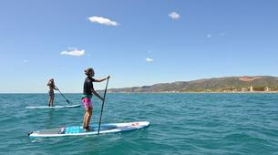 Stand up Paddle-Barcelona-Stand Up Paddle in Castelldedels Beach, near Barcelona-1