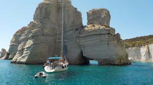 Voile-Milos-Semi-Private Sailing Tour in Milos, with Highlights to Kleftiko and Sykia Cave-2