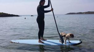 Stand up Paddle-Chania-SUP in Kalathas Beach, near Chania, Crete-2