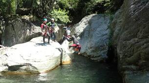 Canyoning-Serre Chevalier-Canyon de Caprie (Italie) au depart de Briançon, Serre Chevalier-1
