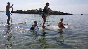 Stand up Paddle-Chania-SUP in Kalathas Beach, near Chania, Crete-1