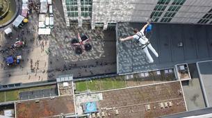 Bungee Jumping-Berlin-Sky Jump at the Alexanderplatz, Berlin center-2