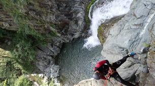 Canyoning-Serre Chevalier-Canyon de Caprie (Italie) au depart de Briançon, Serre Chevalier-5