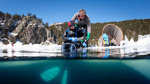 Ice Diving-Les Angles-Ice diving at the corners, Eastern Pyrenees-1