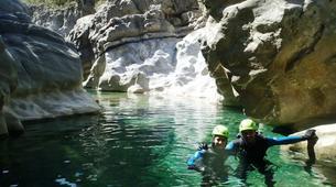 Canyoning-Alta Garrotxa-Family canyoning at Saint Aniol in Alta Garrotxa-6