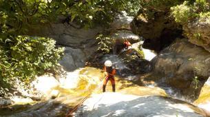 Canyoning-Sierra de las Nieves Natural Park-Canyoning at Zarzalones Gorge in Sierra de las Nieves, near Málaga-2