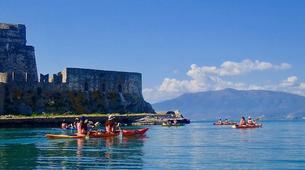 Sea Kayaking-Epidaurus-Sea Kayaking excursion to the sunken city of Epidaurus-1
