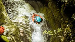 Barranquismo-Edinburgh-The Dollar Falls Canyon adventure near Edinburgh-4