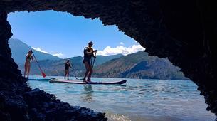 Stand Up Paddle-Lac de Serre-Ponçon-Excursion Stand-Up-Paddle sur le Lac de Serre Ponçon, Hautes Alpes-1