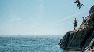 Coasteering-Edinburgh-Coasteering Adventure at Shell Bay near Edinburgh-4