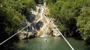 Canyoning-Sierra de las Nieves Natural Park-Canyoning at Zarzalones Gorge in Sierra de las Nieves, near Málaga-5