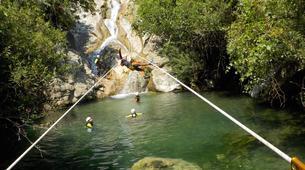 Canyoning-Sierra de las Nieves Natural Park-Canyoning at Zarzalones Gorge in Sierra de las Nieves, near Málaga-7