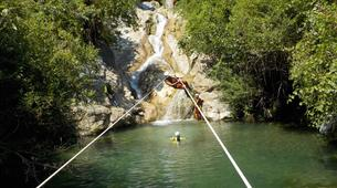 Canyoning-Sierra de las Nieves Natural Park-Canyoning at Zarzalones Gorge in Sierra de las Nieves, near Málaga-1