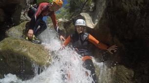 Canyoning-Sierra de las Nieves Natural Park-Canyoning at Zarzalones Gorge in Sierra de las Nieves, near Málaga-3