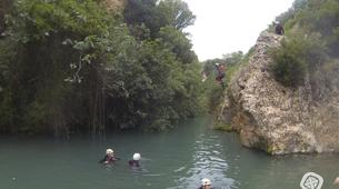 Canyoning-Gorgo de la Escalera-Canyoning au Gorgo de la Escalera près de Valence-5