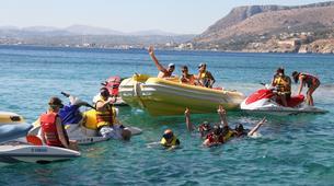 Jet Skiing-Heraklion-Jet Ski Safari and Snorkeling Tour in Heraklion, Crete-5