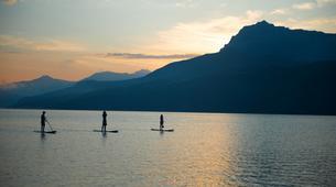 Stand Up Paddle-Lac de Serre-Ponçon-Excursion Stand-Up-Paddle sur le Lac de Serre Ponçon, Hautes Alpes-2