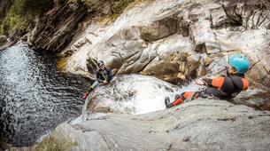 Barranquismo-Edinburgh-The Falls of Bruar experienced canyoning adventure near Edinburgh-2