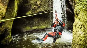Barranquismo-Edinburgh-The Dollar Falls Canyon adventure near Edinburgh-1