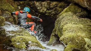 Barranquismo-Edinburgh-The Dollar Falls Canyon adventure near Edinburgh-2