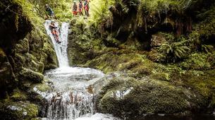 Barranquismo-Edinburgh-The Dollar Falls Canyon adventure near Edinburgh-3