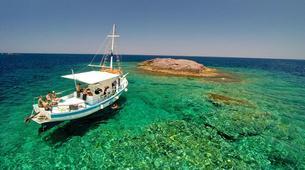 Snorkeling-Paros-Snorkeling boat excursion around Paros-4