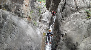 Canyoning-Vall de Ribes-Intermediate canyon in the Valle de Núria-1