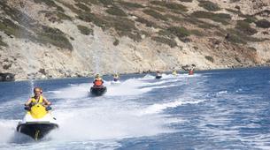 Jet Skiing-Heraklion-Jet Ski Safari and Snorkeling Tour in Heraklion, Crete-3