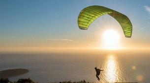 Paragliding-Alicante-Tandem paragliding in Santa Pola near Alicante-1
