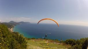 Paragliding-Corfu-Tandem paragliding flight in Corfu-2