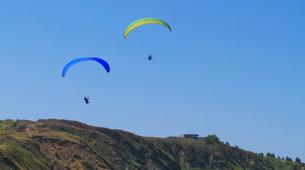 Paragliding-Alicante-Tandem paragliding in Santa Pola near Alicante-2