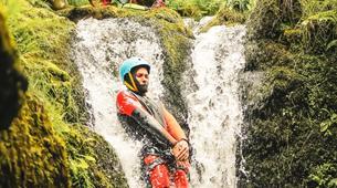 Barranquismo-Edinburgh-The Dollar Falls Canyon adventure near Edinburgh-6