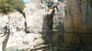 Canyoning-Alta Garrotxa-Family canyoning at Saint Aniol in Alta Garrotxa-1