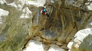 Canyoning-Alta Garrotxa-Family canyoning at Saint Aniol in Alta Garrotxa-2