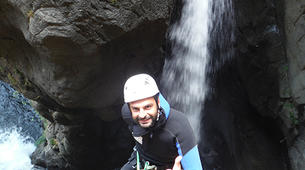 Canyoning-Vall de Ribes-Intermediate canyon in the Valle de Núria-2