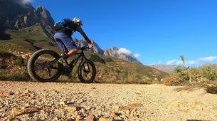 VTT-Stellenbosch-E-Fatbiking up Jonkershoek Nature Reserve, Stellenbosch near Cape Town-1