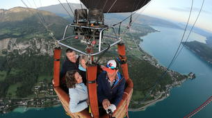 Hot Air Ballooning-Annecy-Hot air balloon flight over Annecy-4