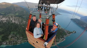 Hot Air Ballooning-Annecy-Hot air balloon flight over Annecy-3