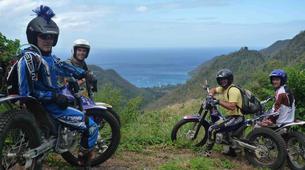 Motocross-Les Trois-Îlets-Moto Trial aux Trois Îlets, Martinique-2