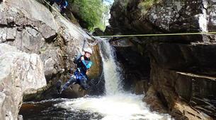 Barranquismo-Edinburgh-Alva canyon in Clackmannanshire near Edinburgh-1