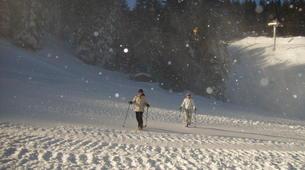 Raquette à Neige-Megève, Evasion Mont Blanc-Excursion en raquettes, Megève, massif du Mont-Blanc-4