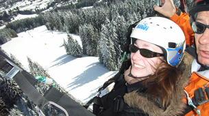 Parapente-Megève, Evasion Mont Blanc-Vol découverte parapente en tandem, Megève, massif du Mont-Blanc-1