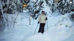 Raquette à Neige-Megève, Evasion Mont Blanc-Excursion en raquettes, Megève, massif du Mont-Blanc-2