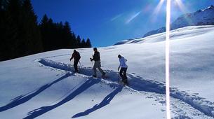 Raquette à Neige-Megève, Evasion Mont Blanc-Excursion en raquettes, Megève, massif du Mont-Blanc-1