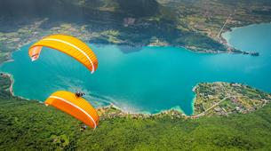 Paragliding-Annecy-Tandem paragliding flight over Annecy's Lake-4