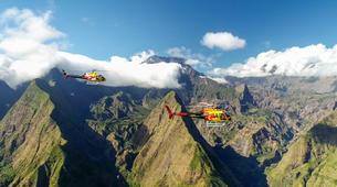 Helicoptère-Cirque de Cilaos-Helirando sur l'île de La Réunion-4