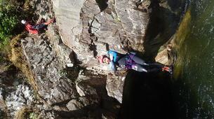 Barranquismo-Edinburgh-Alva canyon in Clackmannanshire near Edinburgh-2