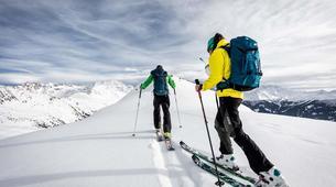 Ski de Randonnée-Saint-Lary-Soulan-Excursion en ski de randonnée à St-Lary-Soulan, Pyrénées-1