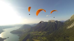 Paragliding-Annecy-Tandem paragliding flight over Annecy's Lake-2